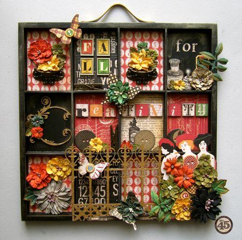 Typography-Printer-Tray-Graphic45-Maria-Cole-Petaloo, Xyron, home decor, gift, blog hop Halloween, Autumn, Fall