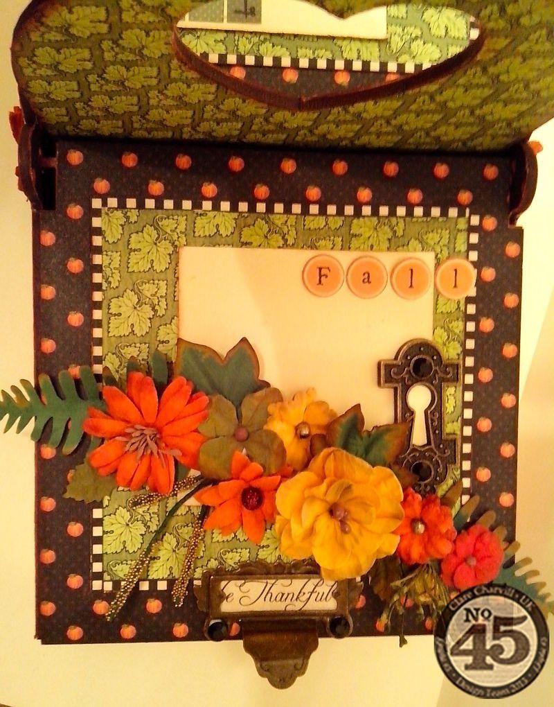 Petaloo & Xyron Blog Hop Altered Home Decor Clare Charvill Pic 3