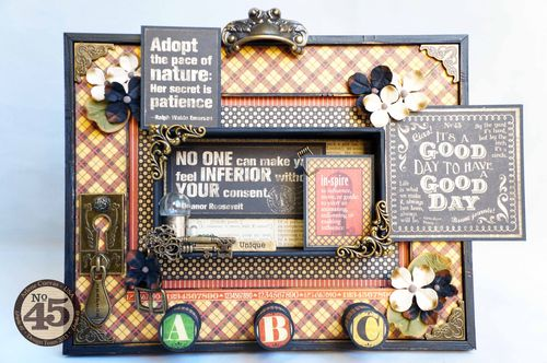 Arlene cuevas_Sept2013_Typography_AlteredFrame_altered art, home decor, gift