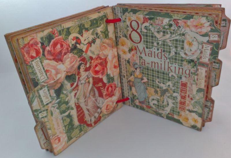 12_Days_of_Christmas_Altered_Book_Rhea_Freitag_6_of_11