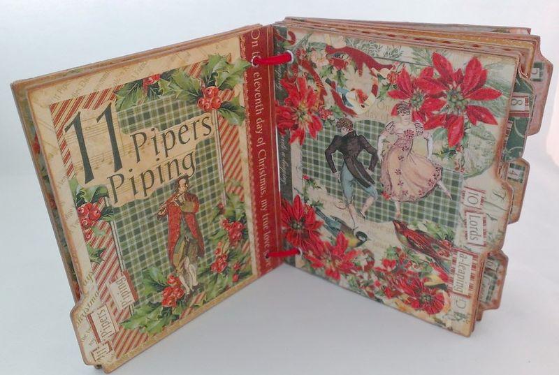 12_Days_of_Christmas_Altered_Book_Rhea_Freitag_5_of_11