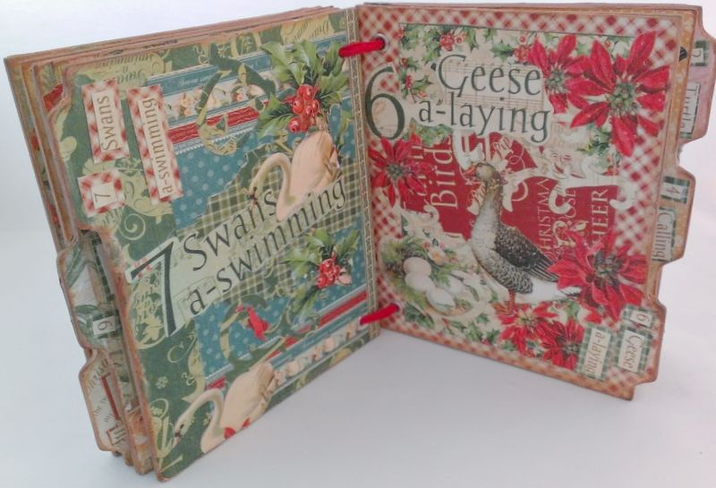 12_Days_of_Christmas_Altered_Book_Rhea_Freitag_7_of_11