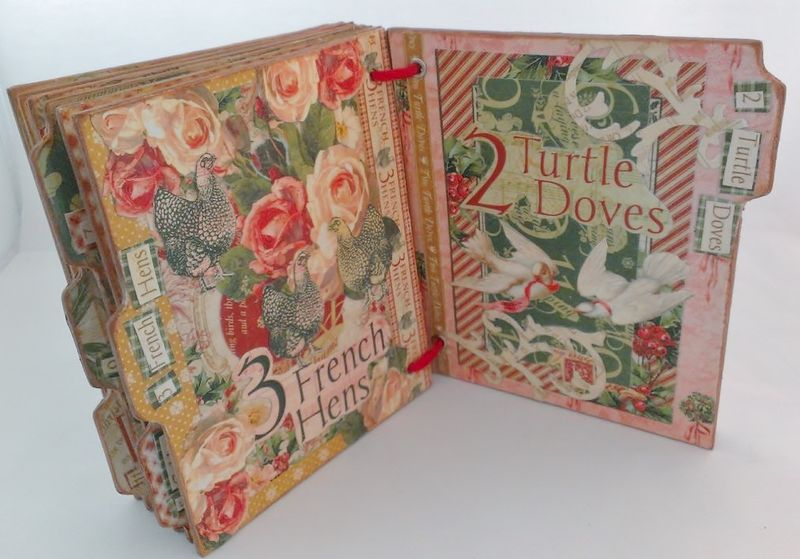 12_Days_of_Christmas_Altered_Book_Rhea_Freitag_9_of_11