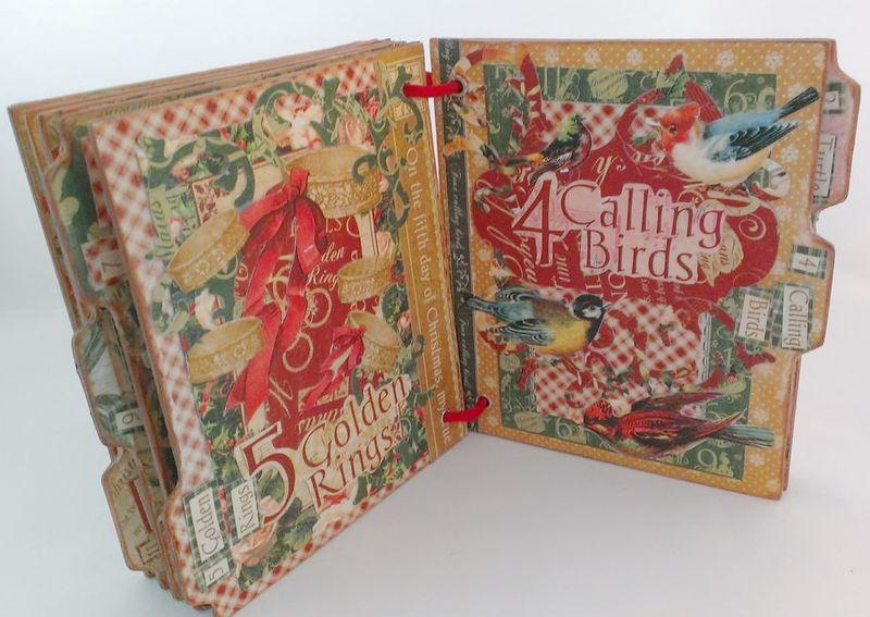 12_Days_of_Christmas_Altered_Book_Rhea_Freitag_8_of_11