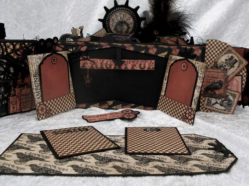 STEAMPUNK SPELLS-GRAPHIC 45-TUTORIAL-ENVELOPE-MINI ALBUM-ENVELOPE-ANNE ROSTAD-ANNESPAPERCREATIONS- 4