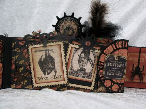 STEAMPUNK SPELLS-GRAPHIC 45-TUTORIAL-ENVELOPE-MINI ALBUM-ENVELOPE-ANNE ROSTAD-ANNESPAPERCREATIONS- 3