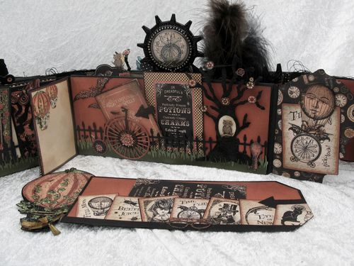 STEAMPUNK SPELLS-GRAPHIC 45-TUTORIAL-ENVELOPE-MINI ALBUM-ENVELOPE-ANNE ROSTAD-ANNESPAPERCREATIONS- 7