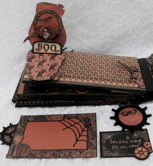 STEAMPUNK SPELLS-GRAPHIC 45-TUTORIAL-ENVELOPE-MINI ALBUM-ENVELOPE-ANNE ROSTAD-ANNESPAPERCREATIONS- 8