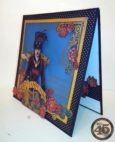 G45 Sept Project 1 Steampunk Spells Card Clare Charvill Pic 11