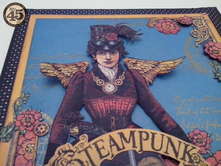 G45 Sept Project 1 Steampunk Spells Card Clare Charvill Pic 6
