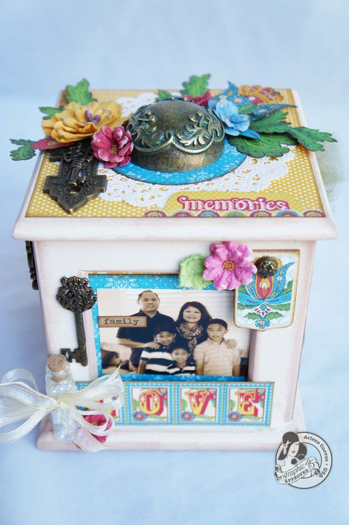 Arlenecuevas_aug2013_BohoBizaar_AlteredPhotoCarosel_family, home decor, gift