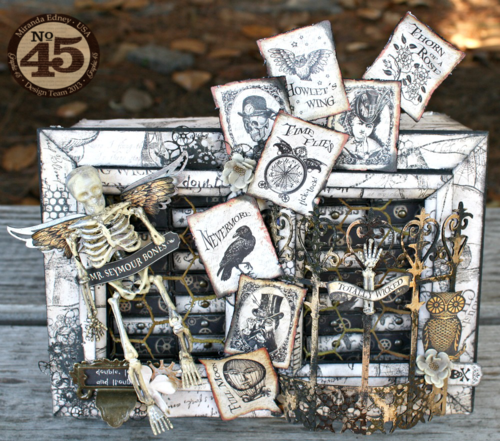 Steampunk-Spells-Matchbox-Dresser-Graphic-45-Miranda-Edney-Halloween, gift, home decor, treat, candy