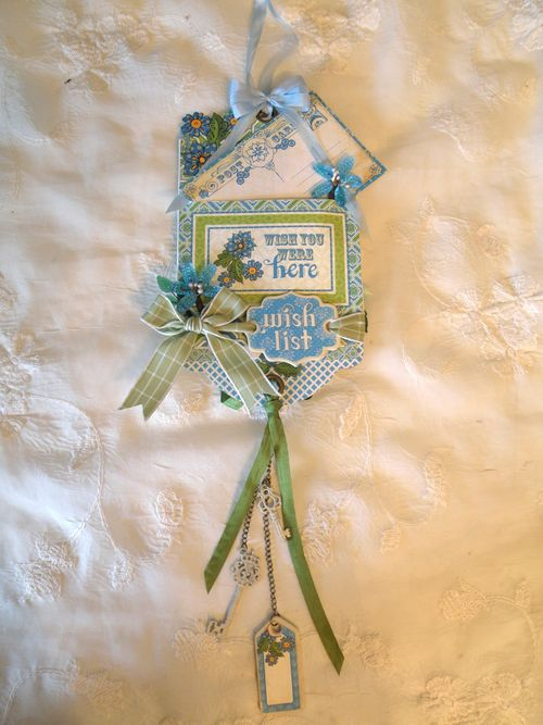 GRAPHIC 45-BOHEMIAN BAZAAR-UP SIDE DOWN-TAG-CARD-ANNE ROSTAD-ANNESPAPERCREATIONS, tag, gift