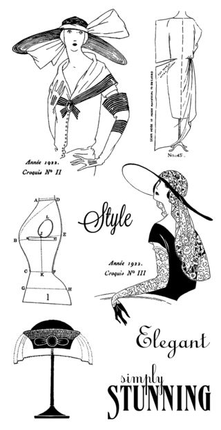 Couture-cling stamps-02