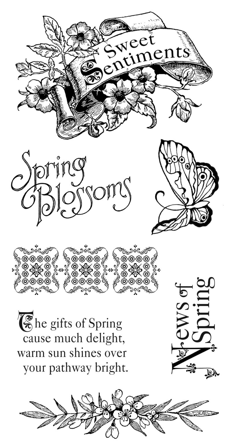 Sweet Sentiments cling stamps_01