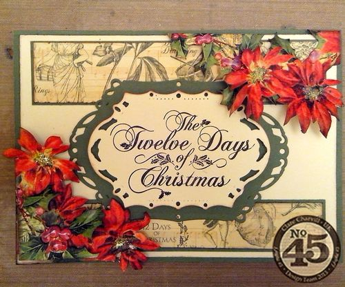 12 Day of C Card Graphic 45 Clare Charvill tutorial holiday gift