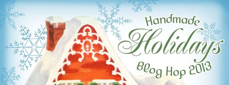 Handmade Holidays Blog Hop 2013 Logo