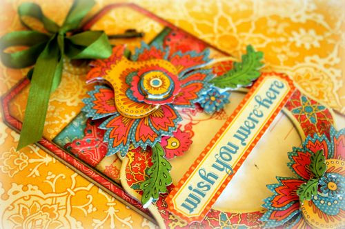 Bohemian Bazaar tag - detail