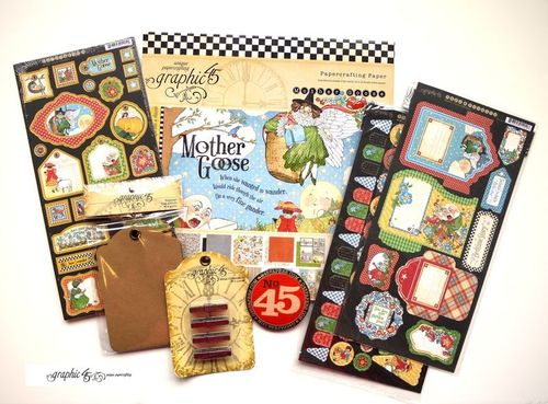 Graphic 45 prize contest Mother Goose