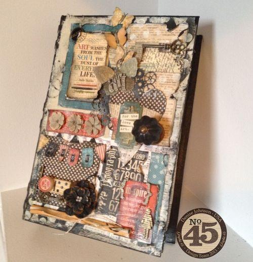 Art-book-gift-box-typography-graphic45-denise-johnson-storage, organize, gift