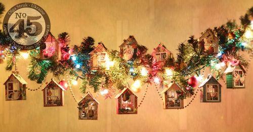Graphic 45 12 Days of Christmas house decor gift Olga Struk