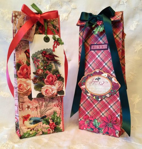 THE TWELVE DAY`S OF CHRISTMAS-CARD- TAG-PAPER BAG-SANTA-SHOE-TUTORIAL-GRAPHIC 45-KREATIC SCRAPPING-ANNESPAPERCREATIONS-GIFT CARD-GIFT- 1a