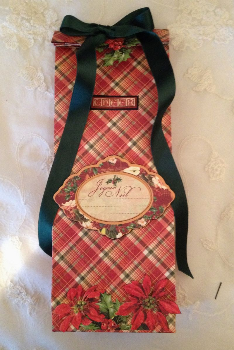 THE TWELVE DAY`S OF CHRISTMAS-CARD- TAG-PAPER BAG-SANTA-SHOE-TUTORIAL-GRAPHIC 45-KREATIC SCRAPPING-ANNESPAPERCREATIONS-GIFT CARD-GIFT- 3
