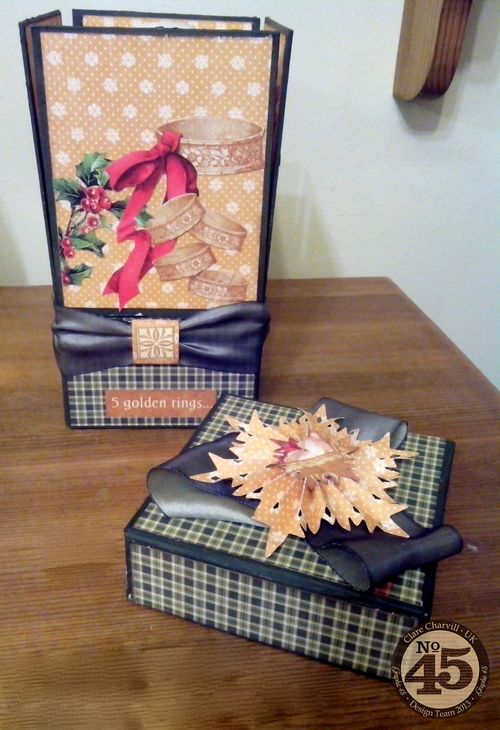 5th Day of Christmas Candle in a box gift Clare Charvill Dec 13 Pic 4