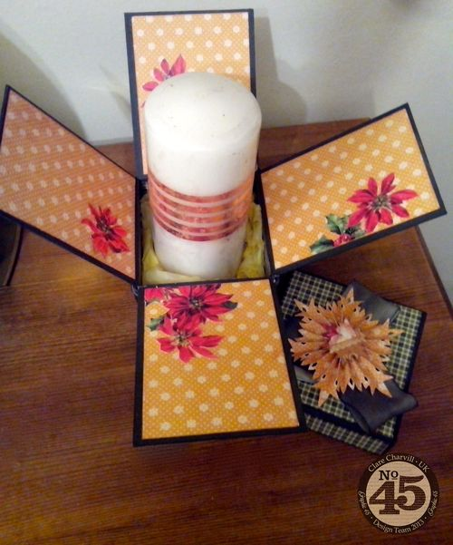 5th Day of Christmas Candle in a box gift Clare Charvill Dec 13 Pic 6
