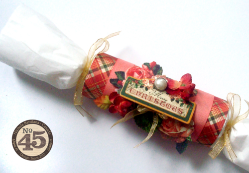 Graphic45_ 12 Days of Christmas_Cracker_Crown_Nichola Battilana_gift, tutorial, holiday,