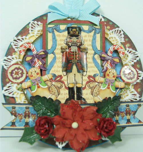 Graphic 45 Nutcracker Sweet ornament Christmas Andrew Roberts