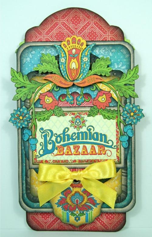 Graphic 45 Andrew Roberts Tag Bohemian Bazaar