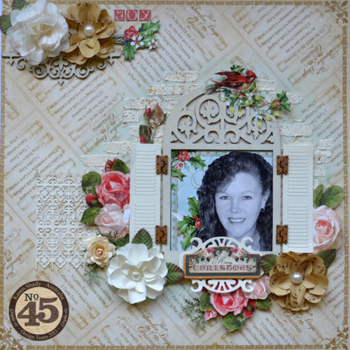 12-days-of-christmas_layout, Karen Shady, Graphic 45
