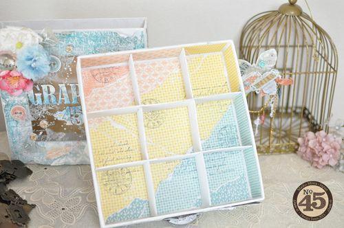 Maiko Miwa Graphic 45 Matchbook box SecretGarden Storage box#1