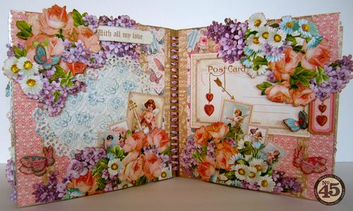 Sweet-Sentiments-Easel-Album-Graphic45-Maria-Cole-11-of-12