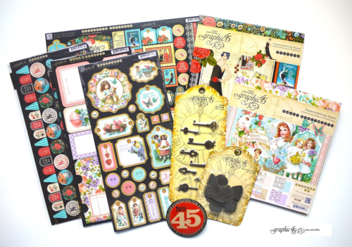 Graphic 45 Sweet Sentiments Couture prize pack