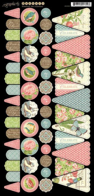 Botanical Tea Banners Graphic 45 sneak peeks
