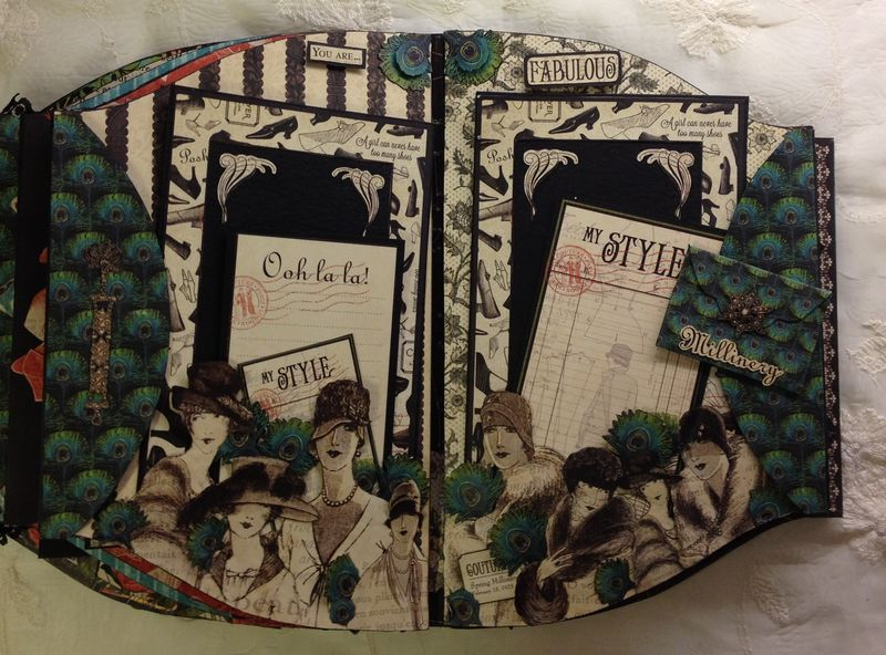 COUTURE-GRAPHIC 45-NINIALBUM-PURSE-CARD-TAG-BOX-TUTORIAL-ANNESPAPERCREATIONS-ANNE ROSTAD-KREATIV SCRAPPING-SCRAPBOOKING-CRAFT- 11 (1)