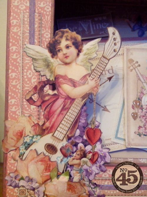 CHA 2014 Sweet Sentiments Altered Matchbook Box Pic 4