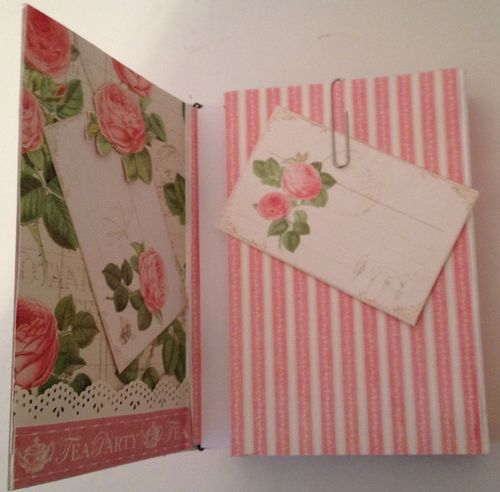 BOTANICAL TEA-GRAPHIC 45-G45-MINI ALBUM-RECIPE-BOOK-BOX-PHOTO-ALBUM-BINDING-CREATE-ANNESPAPERCREATIONS-KREATIV SCRAPPING- 8