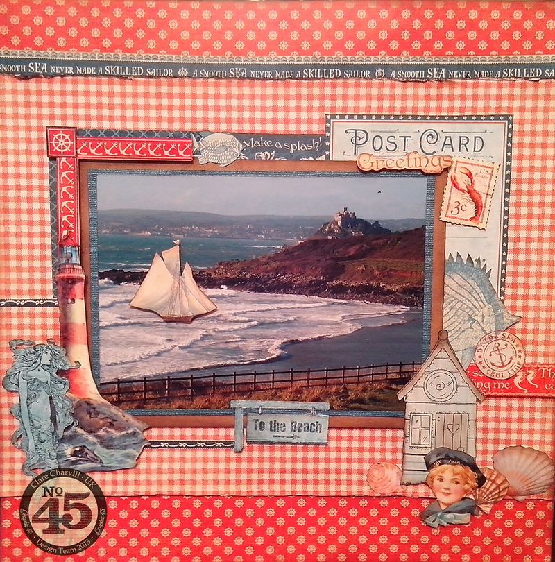 By The Sea Layout CHA 2014 Clare Charvill Pic 1
