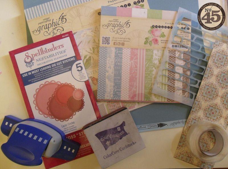 Botanical Tea Folding Card Clare Charvill Pic 1
