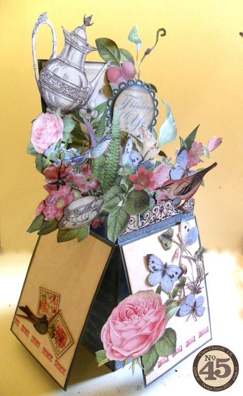 Botanical Tea Folding Card Clare Charvill Pic 16