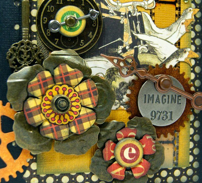 Typography Mini Album Cover Close up