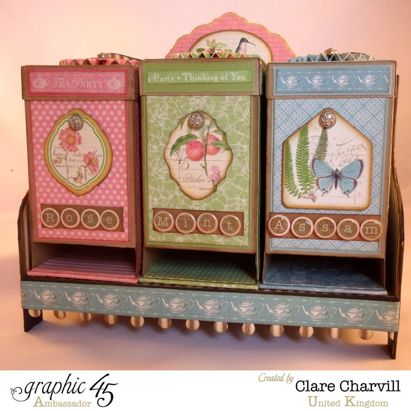 Tea Time Trio Clare Charvill Ambassador UK 1