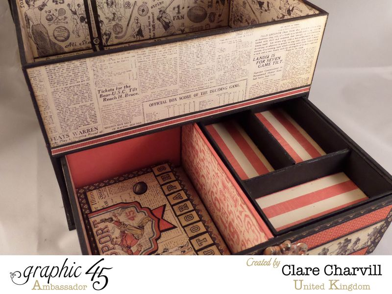 Sporting Keepsake Box Clare Charvill Ambassador 6