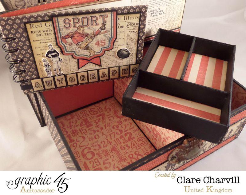 Sporting Keepsake Box Clare Charvill Ambassador 7
