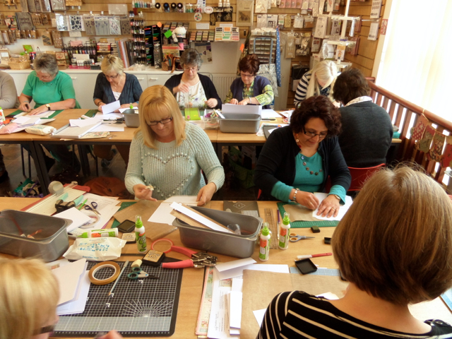 Scrapbook Magic Workshop with Clare 1