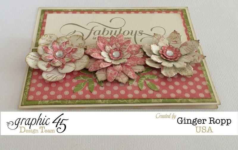 Botanical tea fabulous card