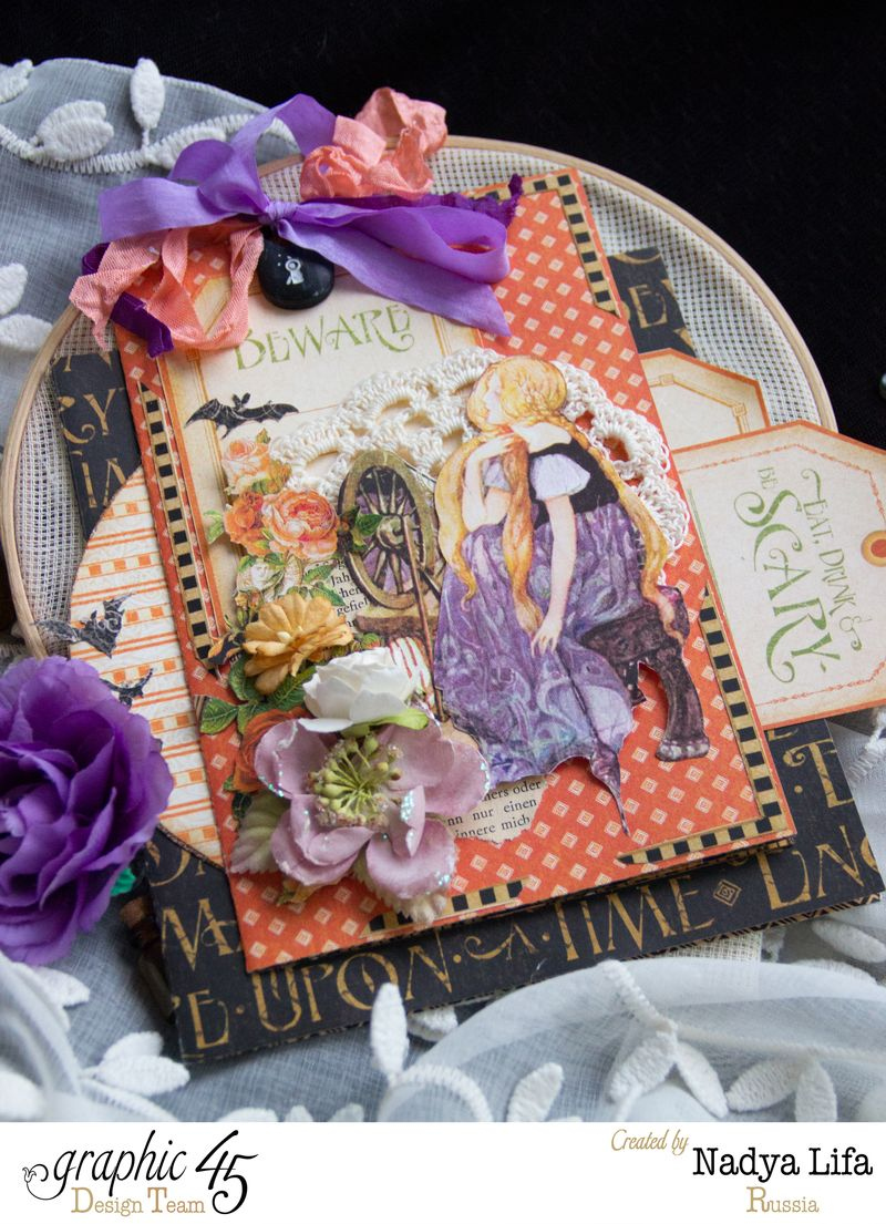 An Eerie Tale card 1 - Nadya Lifa